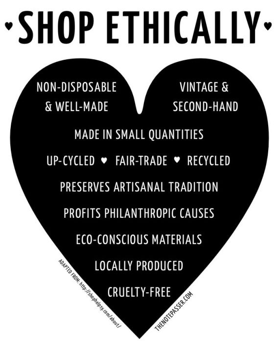 shop ethically